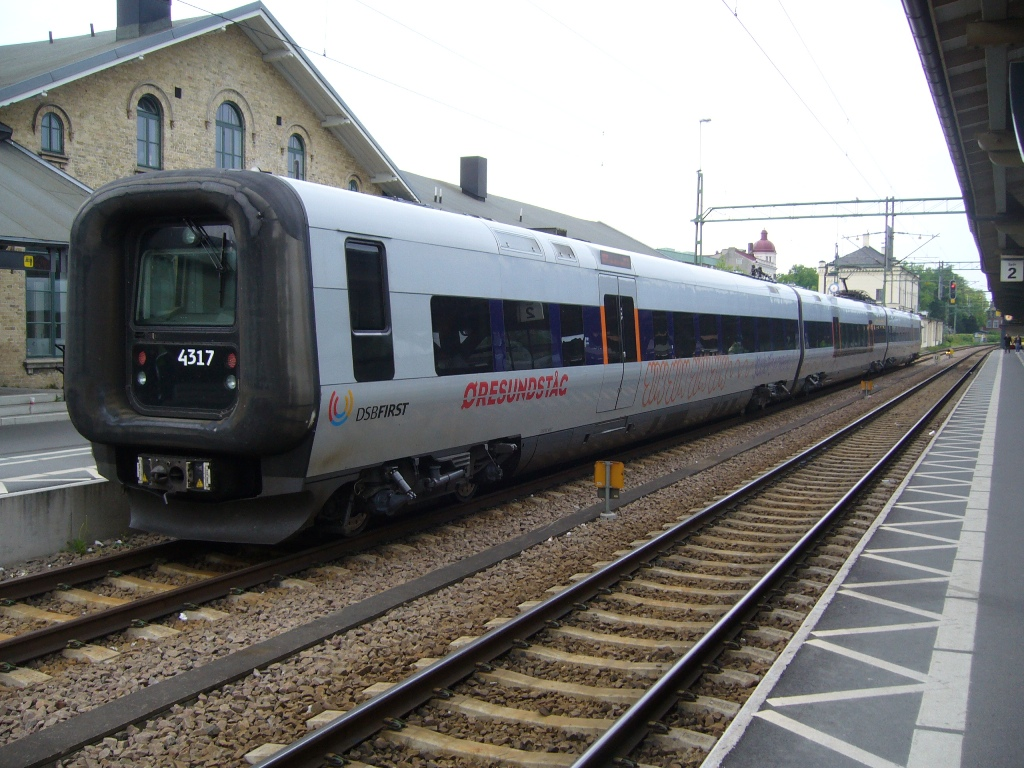 DSB ET 4317, Lund Centralstation, 2011-05-14. Photo Tommy Rolf Nielsen Martens