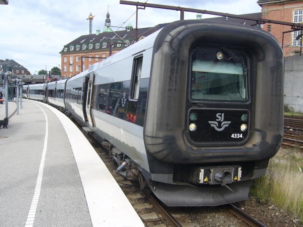 SJ X31K 4334, København (Köpenhamn), 2010-06-15. Photo Tommy Rolf Nielsen Martens
