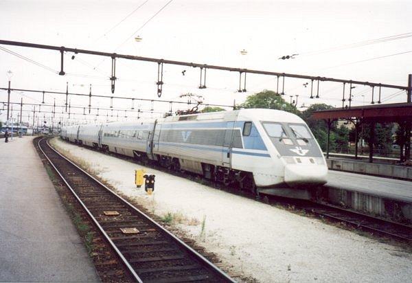 SJ X2 2009, Malmö Centralstation, 2000-07-04, Photo Tommy Rolf Nielsen Martens