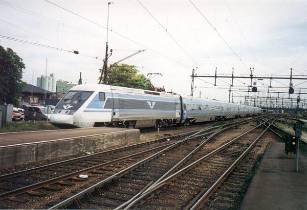 SJ X2 2026, Malmö Centralstation, 2000-07-04, Photo Tommy Rolf Nielsen Martens