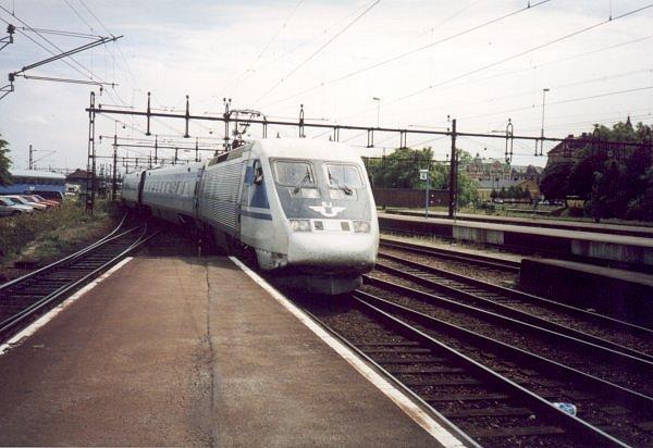 SJ X2 2034, Malmö Centralstation, 2000-07-04, Photo Tommy Rolf Nielsen Martens