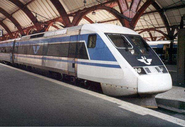 SJ X2K 2037, Malmö Centralstation, 2000-07-04, Photo Tommy Rolf Nielsen Martens