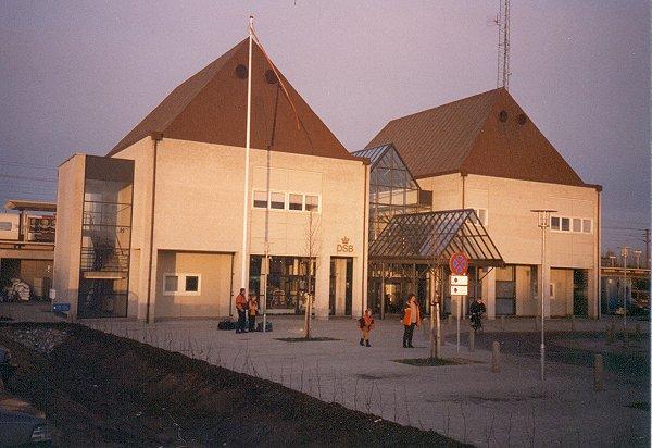 Nyborgs nuværende station den 14. 3. 1998